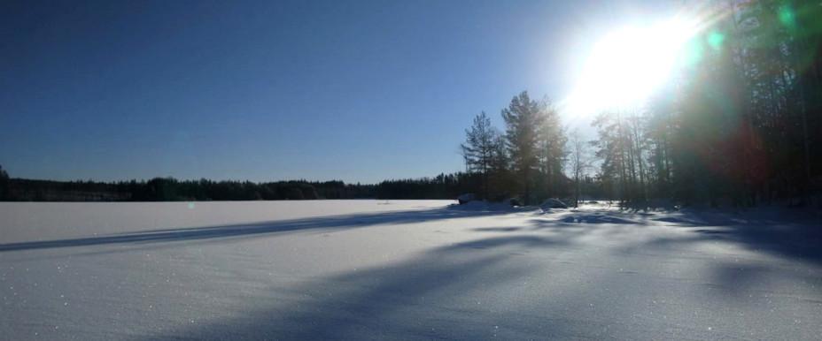 Ett fint vinterlandskap.